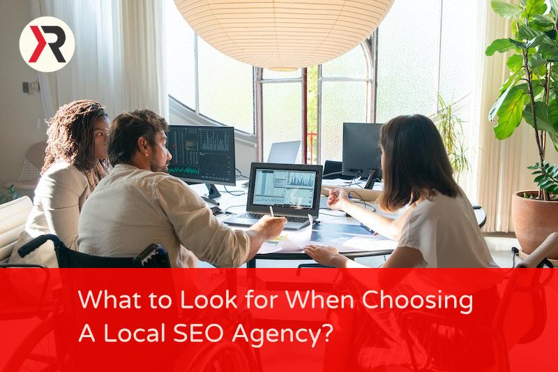 Choosing Local SEO business.